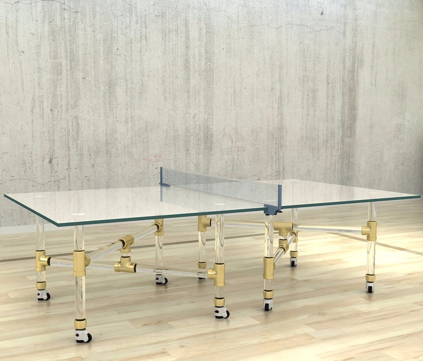 Table Thorough Ping Pong Table