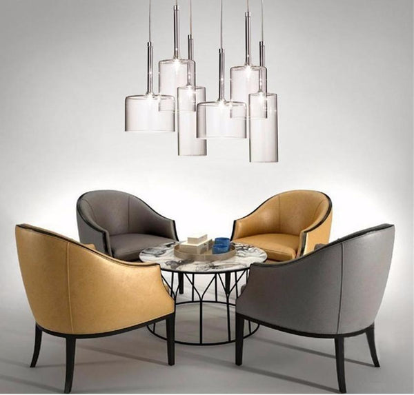 Transparent Glass Art Pendant Lights at Lifeix Design