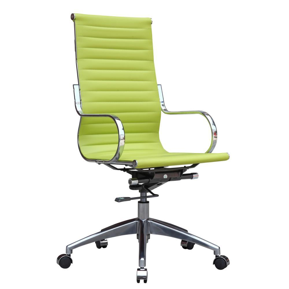 Green Twist Office Chair High Back