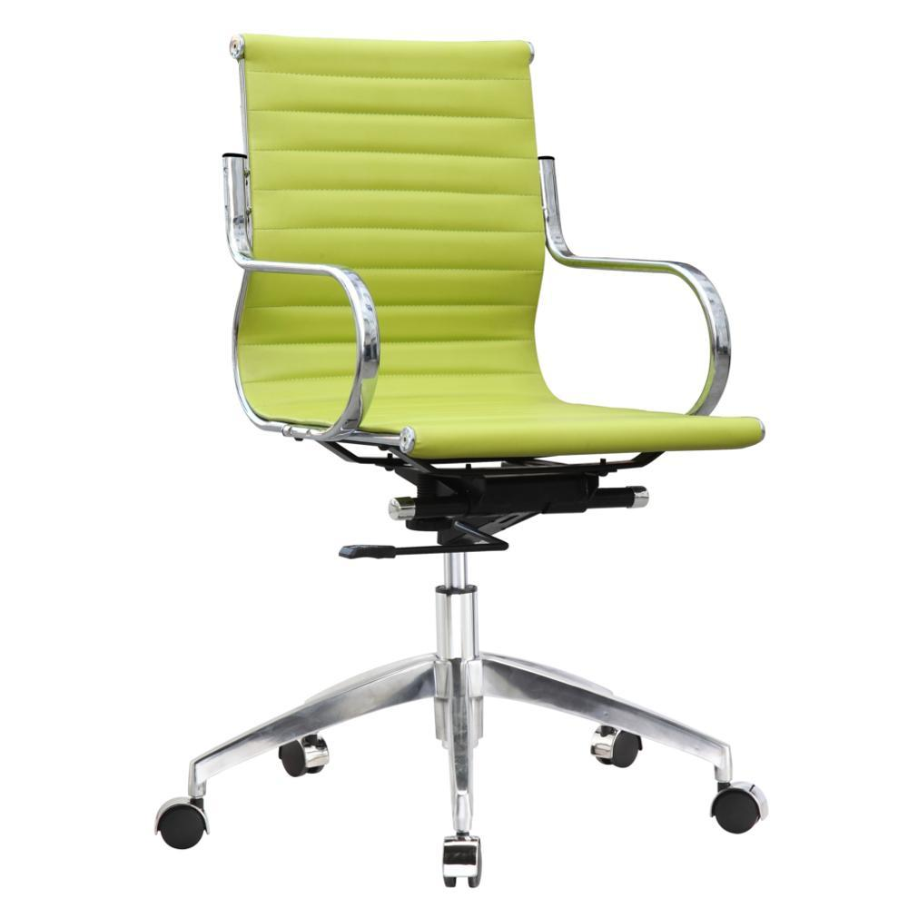 Green Twist Office Chair Mid Back