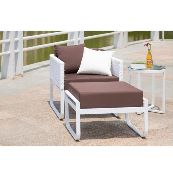 White Ultra Outdoor Lounge