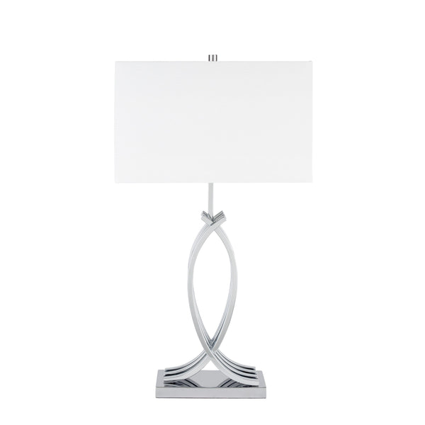 Unity in Chrome- 3 Brightness Settings- Table lamp