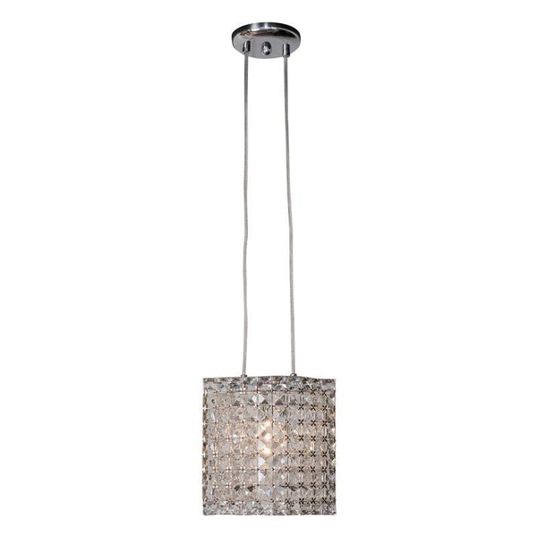 Vintage Crystal- Single Pedant Chandelier