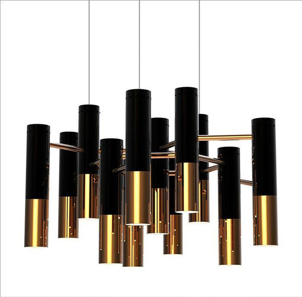 Vintage Water Pipe Design Chandelier at Lifeix Design