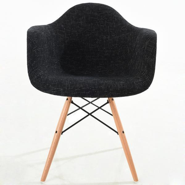 Chairs Vortex Padded Arm Chair Natural Base