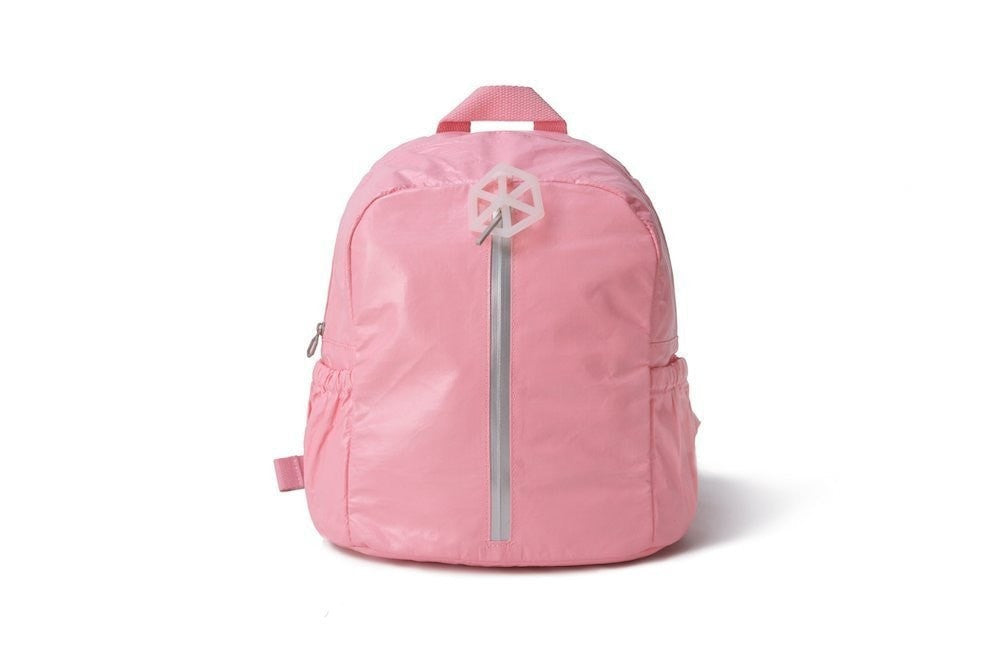 Backpack Pink White-CUTIE Kids Backpack Paper Made, Waterproof, Tear Proof by Lifeix, Draw on it, DIY your own bag