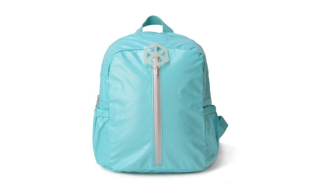 Backpack Green White-CUTIE Kids Backpack Paper Made, Waterproof, Tear Proof by Lifeix, Draw on it, DIY your own bag