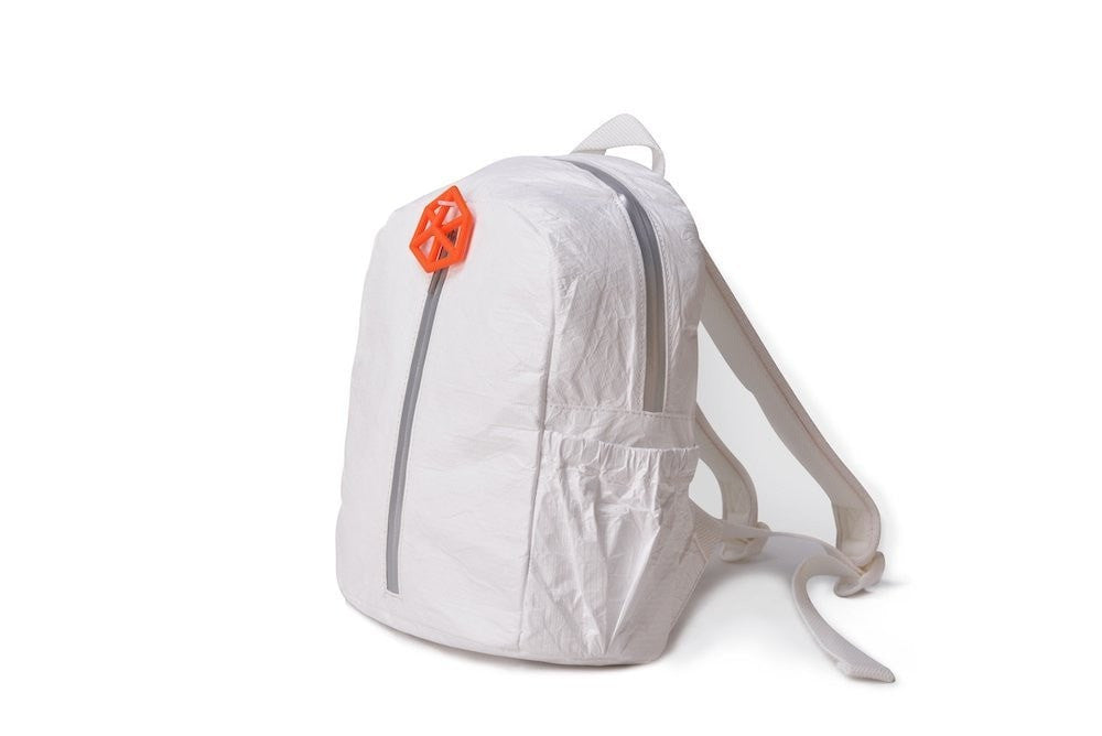 Backpack White-CUTIE Kids Backpack Paper Made, Waterproof, Tear Proof by Lifeix, Draw on it, DIY your own bag