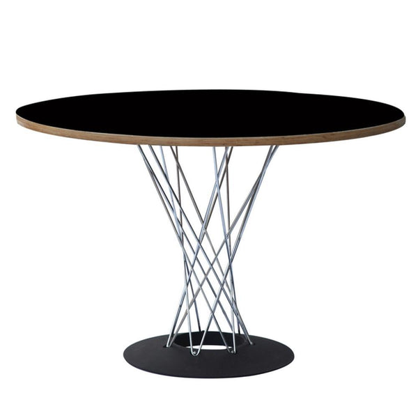 Black Wire Dining Table 42""