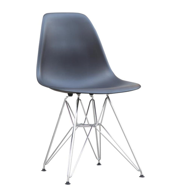 Black WireLeg Dining Side Chair