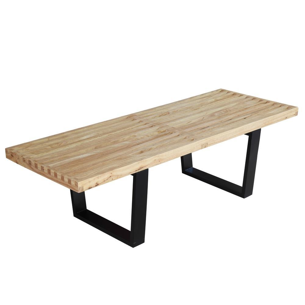 Natural Wood Bench 48""