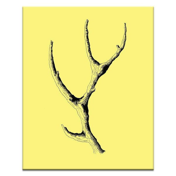"Artwork 16x20x1.5"" Wooden Antler Artwork by Ayarti"