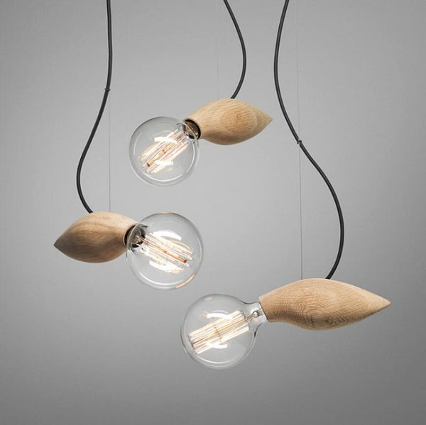 Wooden Rockets - Unique & Creative Pendant Light for Artists/Cafe/Restaurant at Lifeix Design