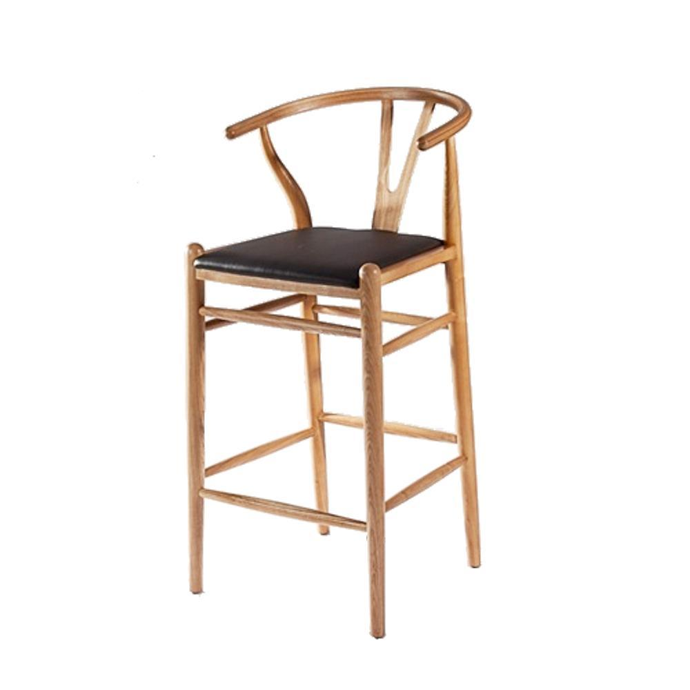 Natural Woodstring Bar Stool Chair