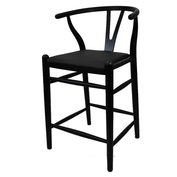 Black Woodstring Counter Chair