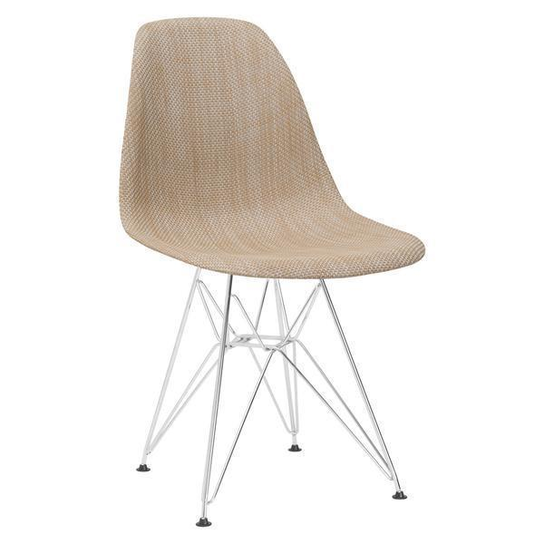 Dining Chair Beige / Single Woven Padget Dining Chair