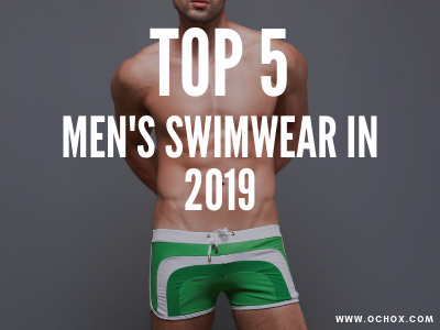 Top 5 men's swimwear