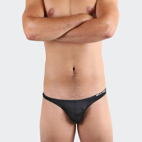 Black Bikini Buns men's thongs by Ochox, very sexy and comfortable men's thongs
