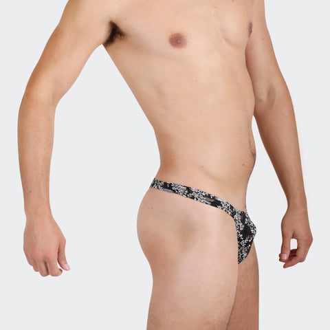 Gorgeous things for men by Ochox, Black color, beautiful see-through fabric