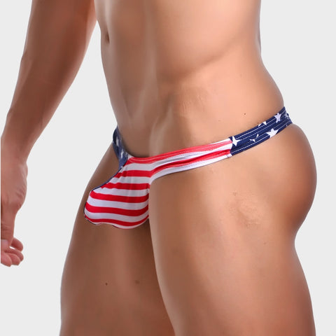 PATRIOT THONGS FOR MEN