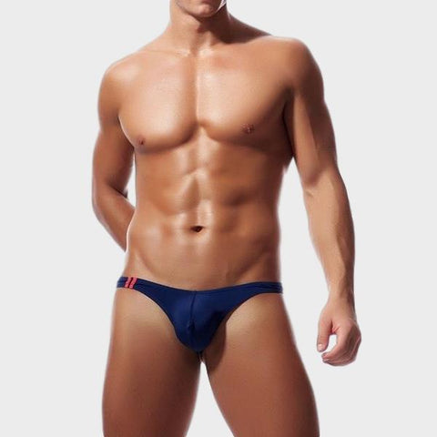 Solid Thongs For Men in navy blue soft and sexy by Ochox