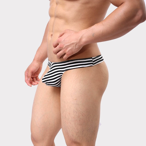 STRIPED THONG | ochox.com