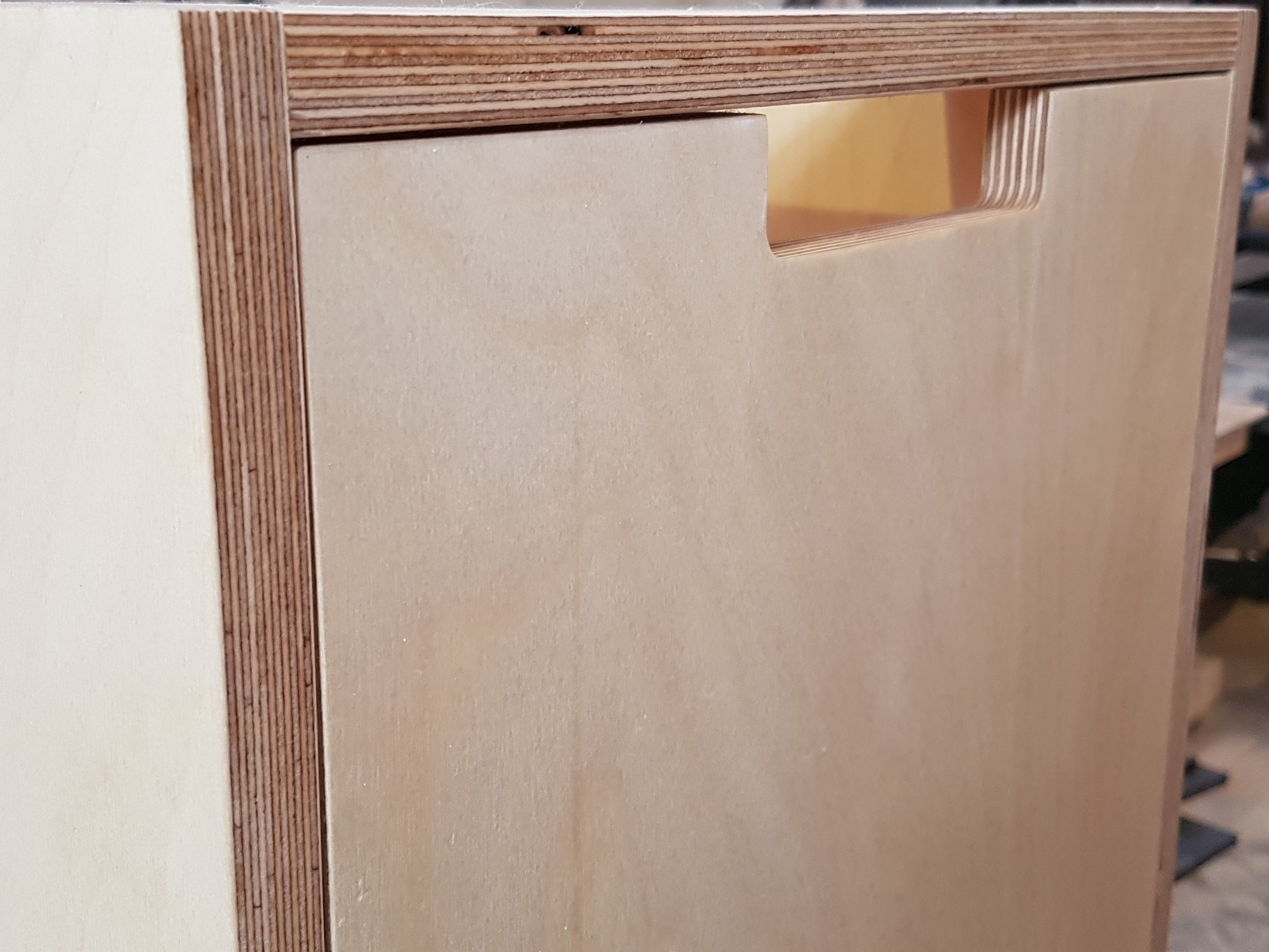 Birch Plywood Door Sample X3