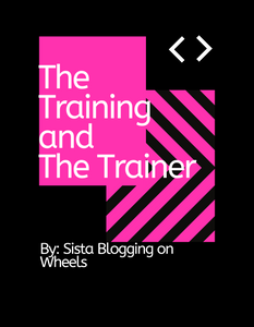 The Training and The Trainer