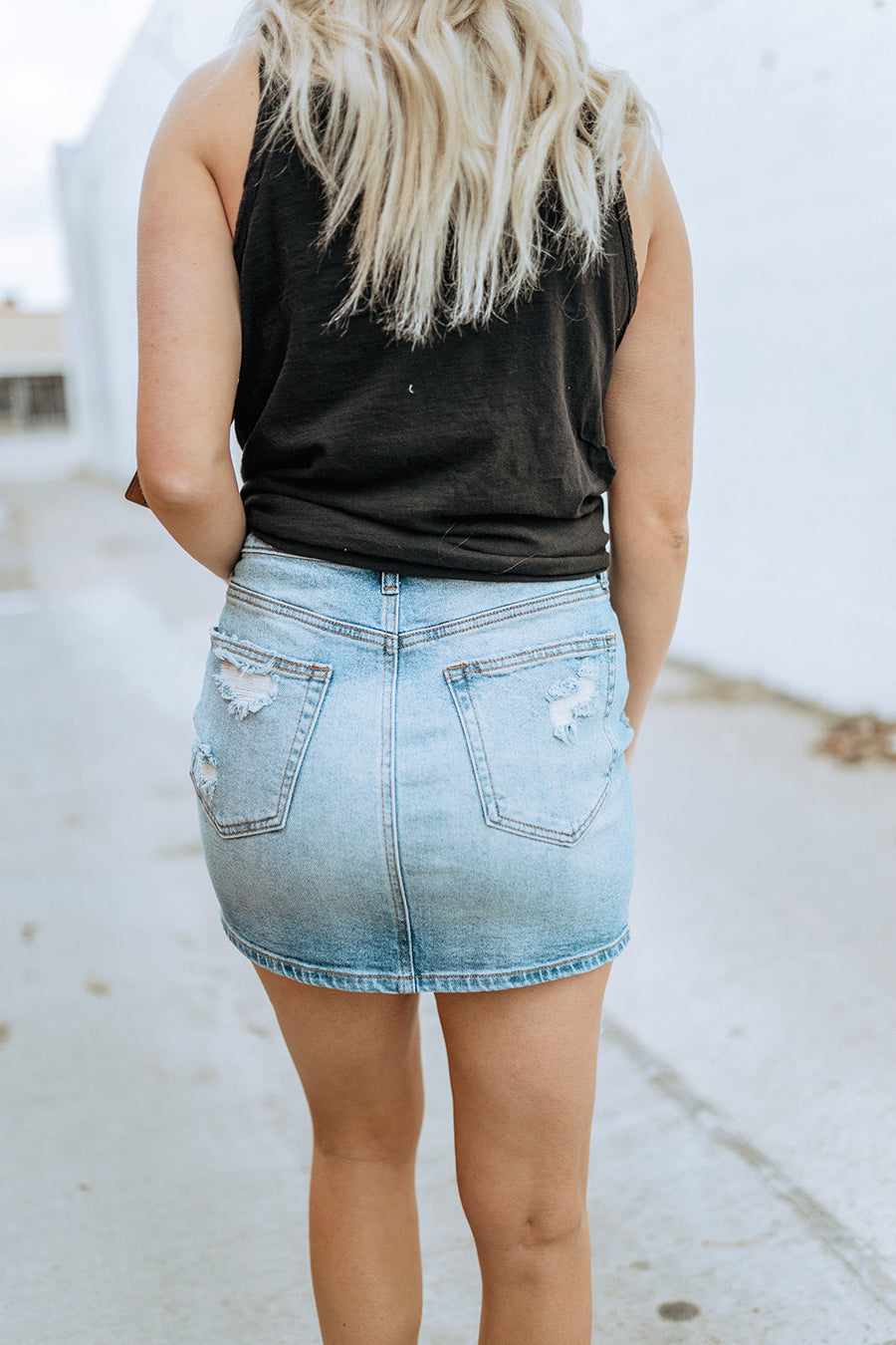Summer Queen Denim Skirt