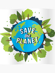 be green save the planet