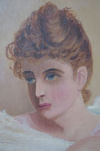Woman Portrait Painting - Charmantiques