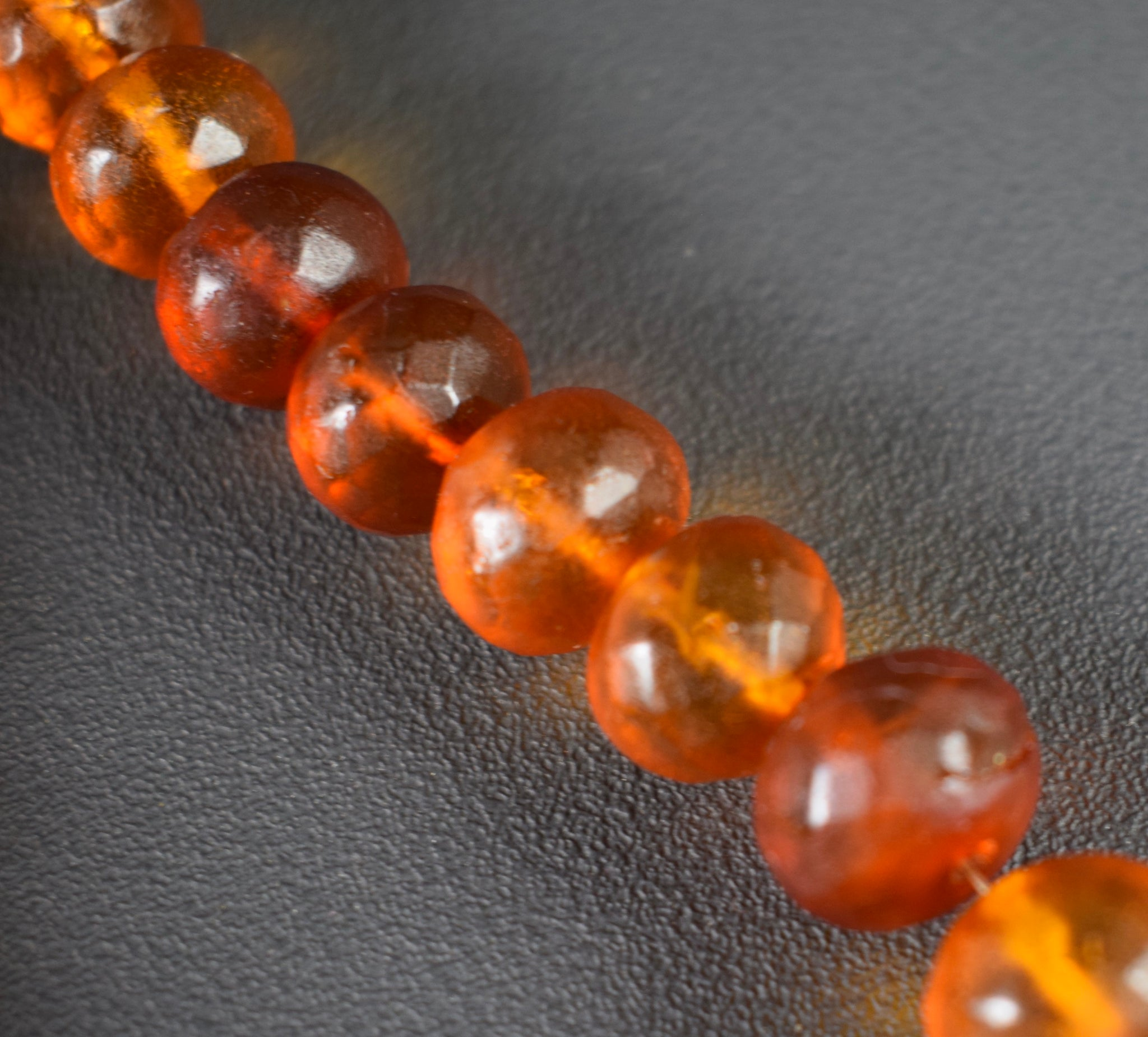 Genuine Amber Necklace - Charmantiques