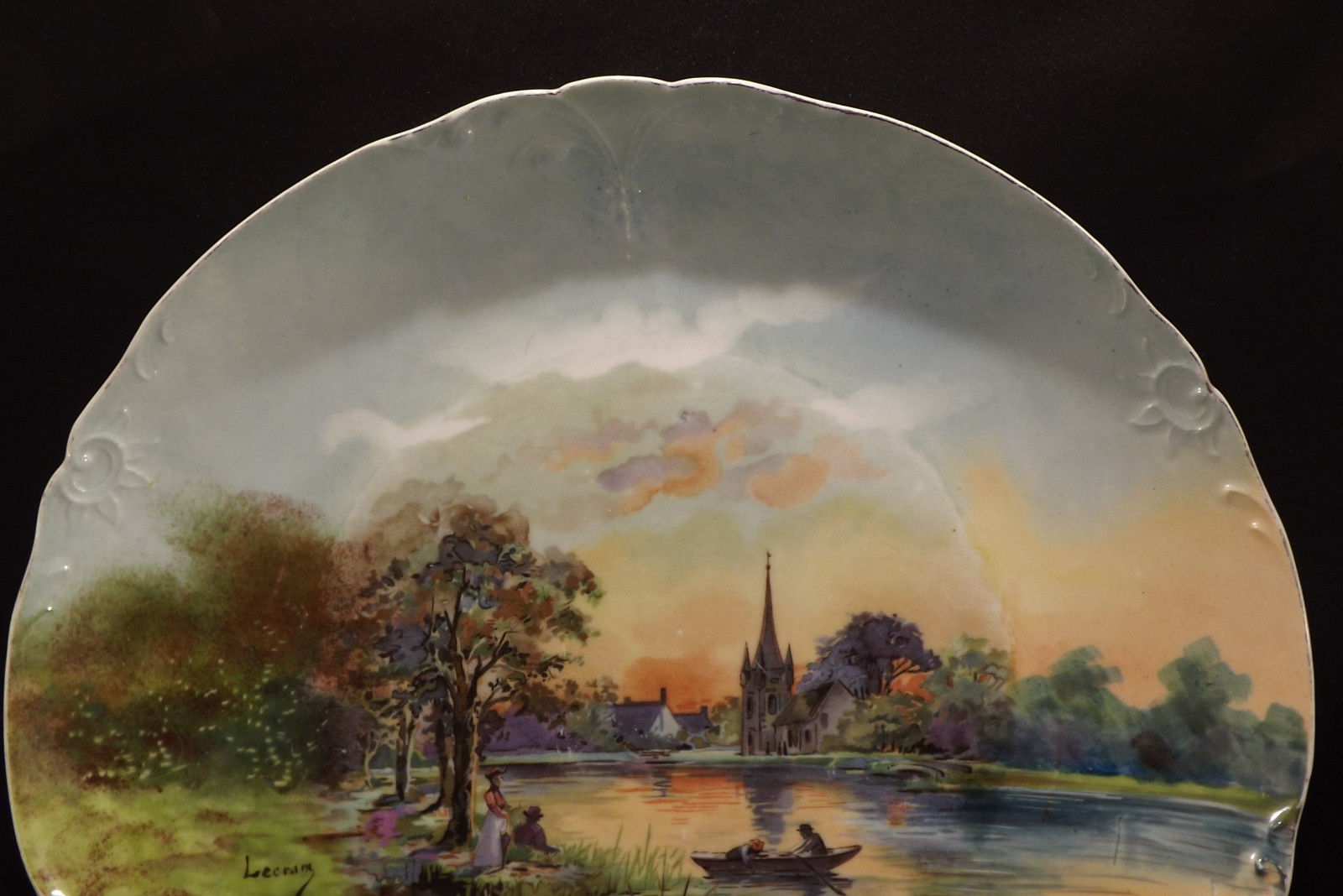 Limoges Wall Plate - Charmantiques