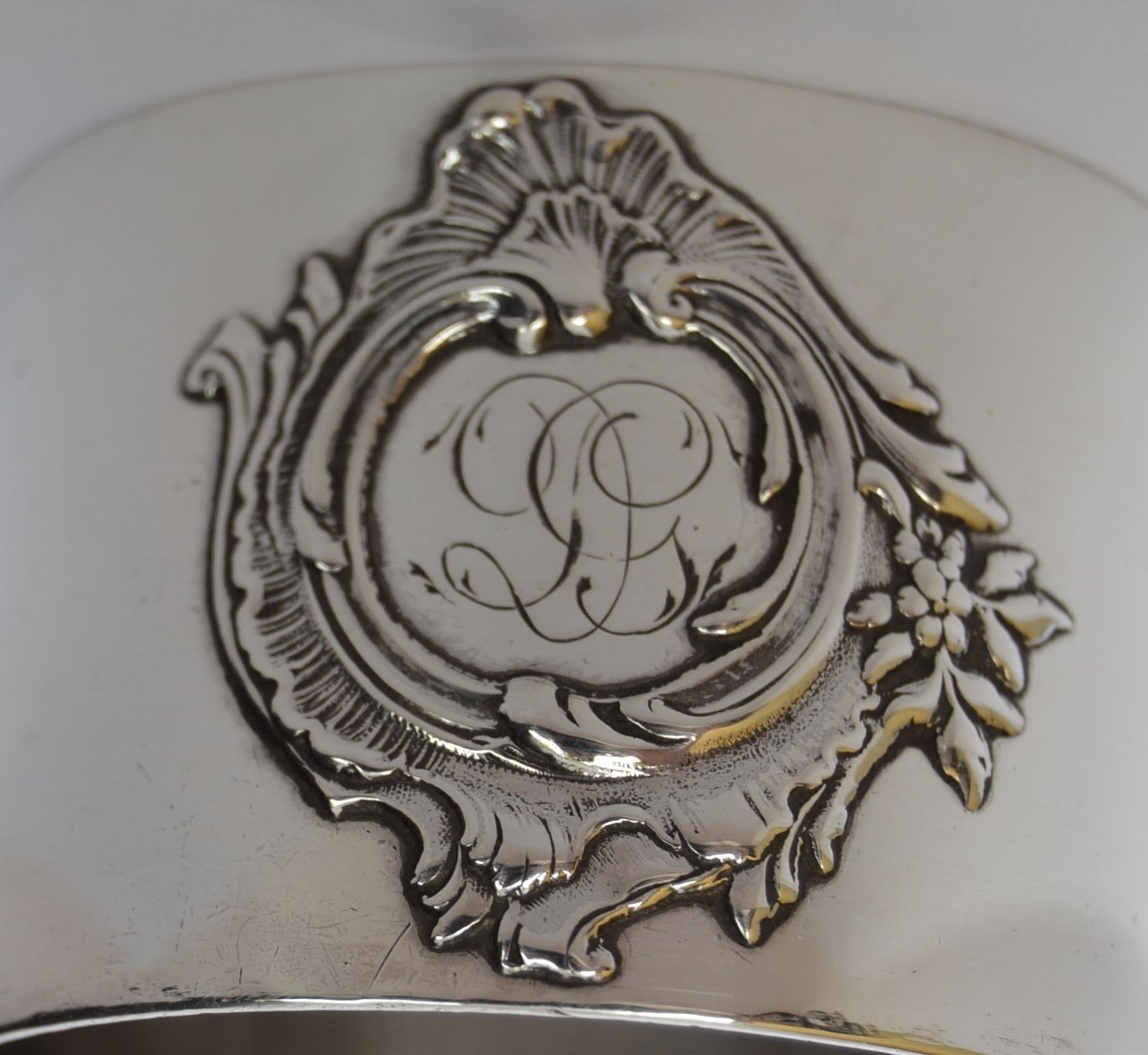 Sterling Silver Napkin Ring - Charmantiques