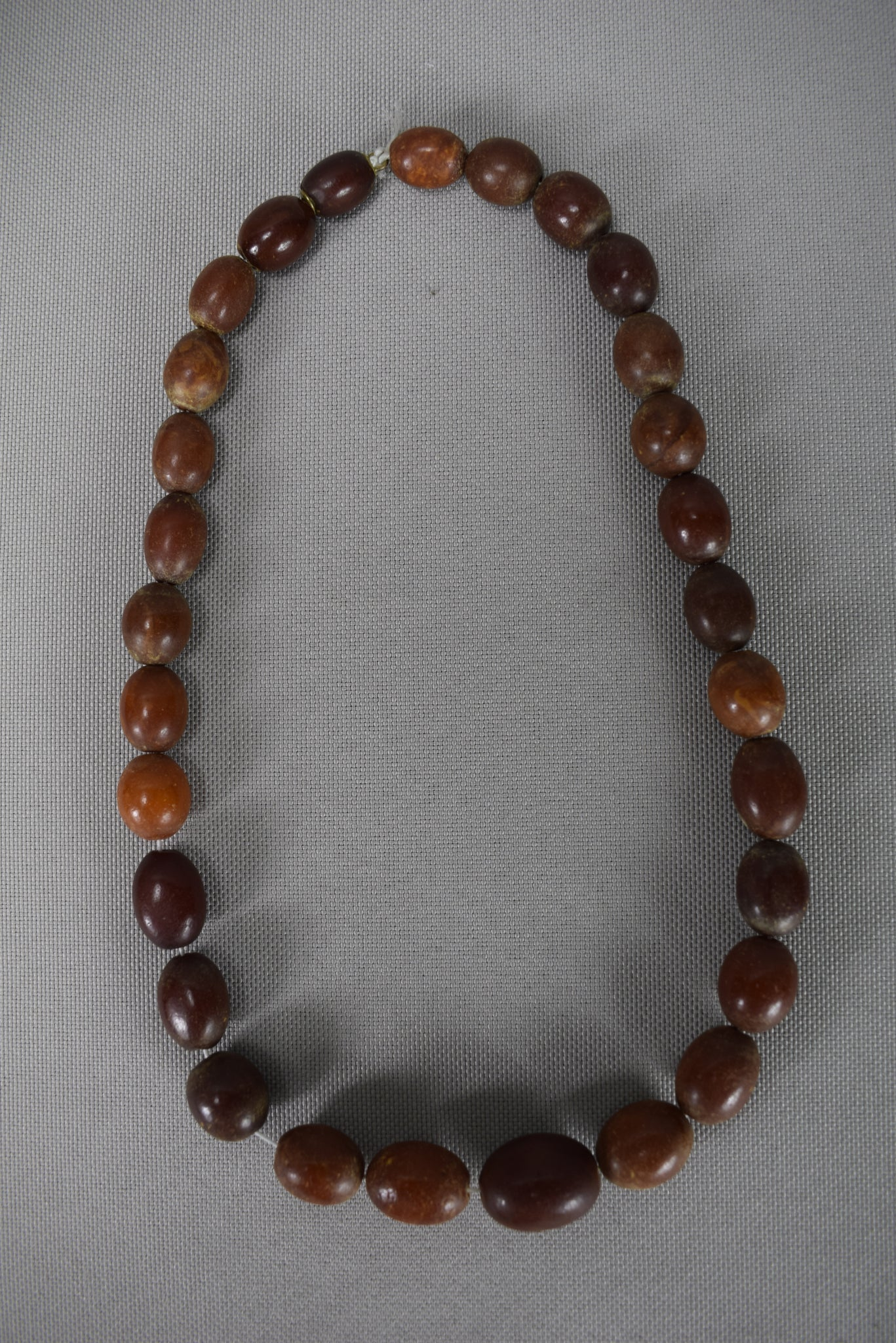 Red Cherry Amber Necklace 54g