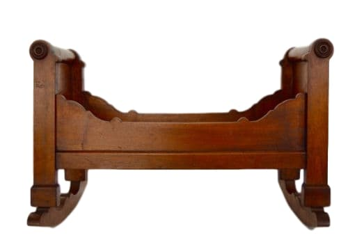 Baby Doll Rocking Bed - Charmantiques