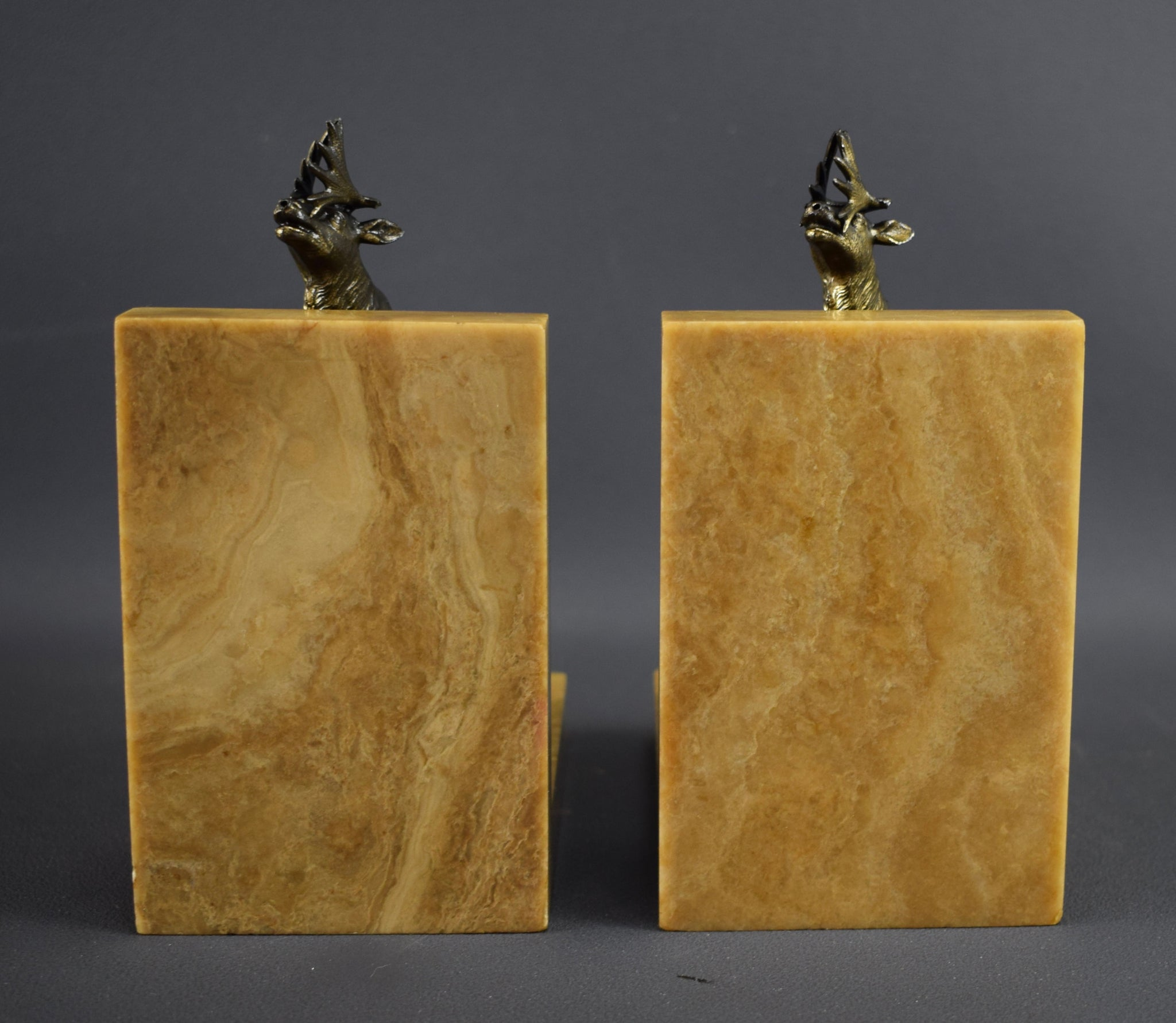Art Deco Bookends Elks