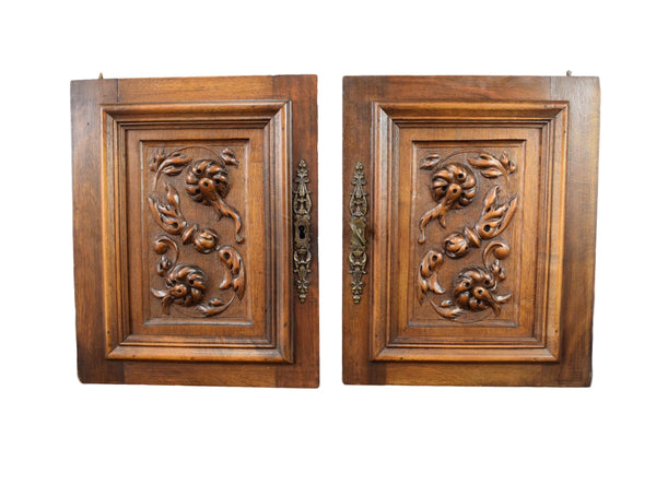 Hand Carved Wood Doors - Charmantiques