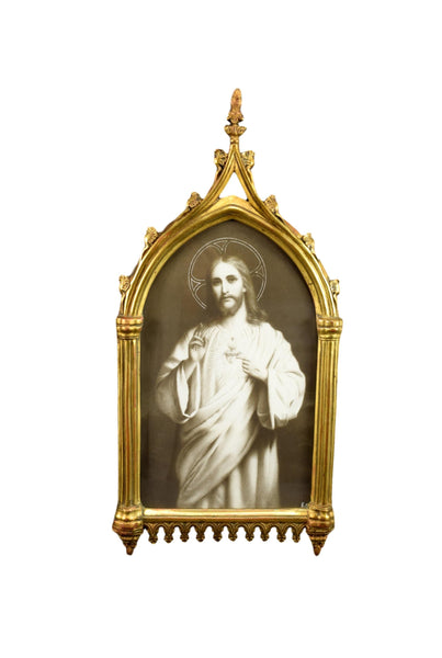 Gothic Religious Frame of Jesus - Charmantiques