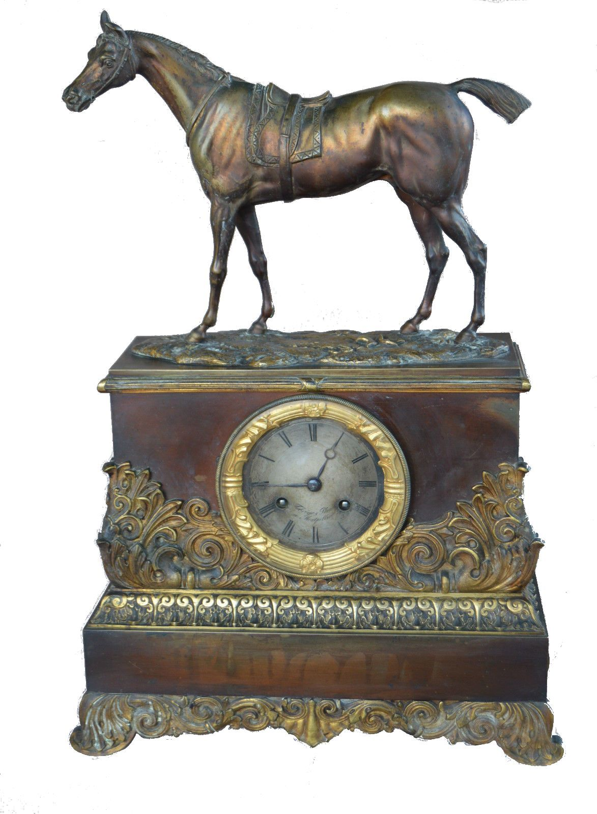 Empire Horse Clock FREE SHIPPING - Charmantiques