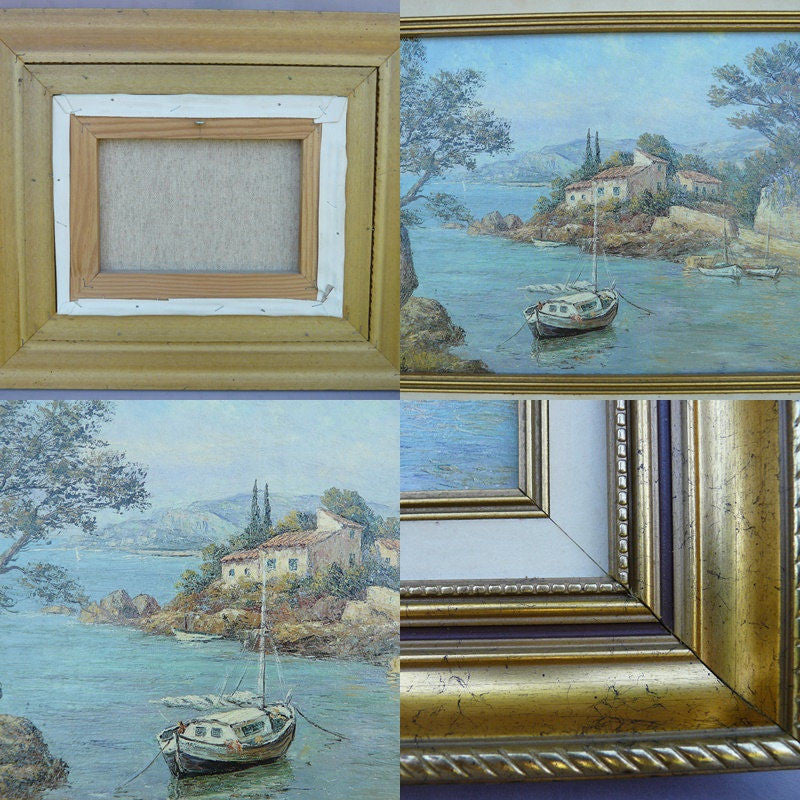 Sea Oil Painting on Canvas FREE SHIPPING ! - Charmantiques