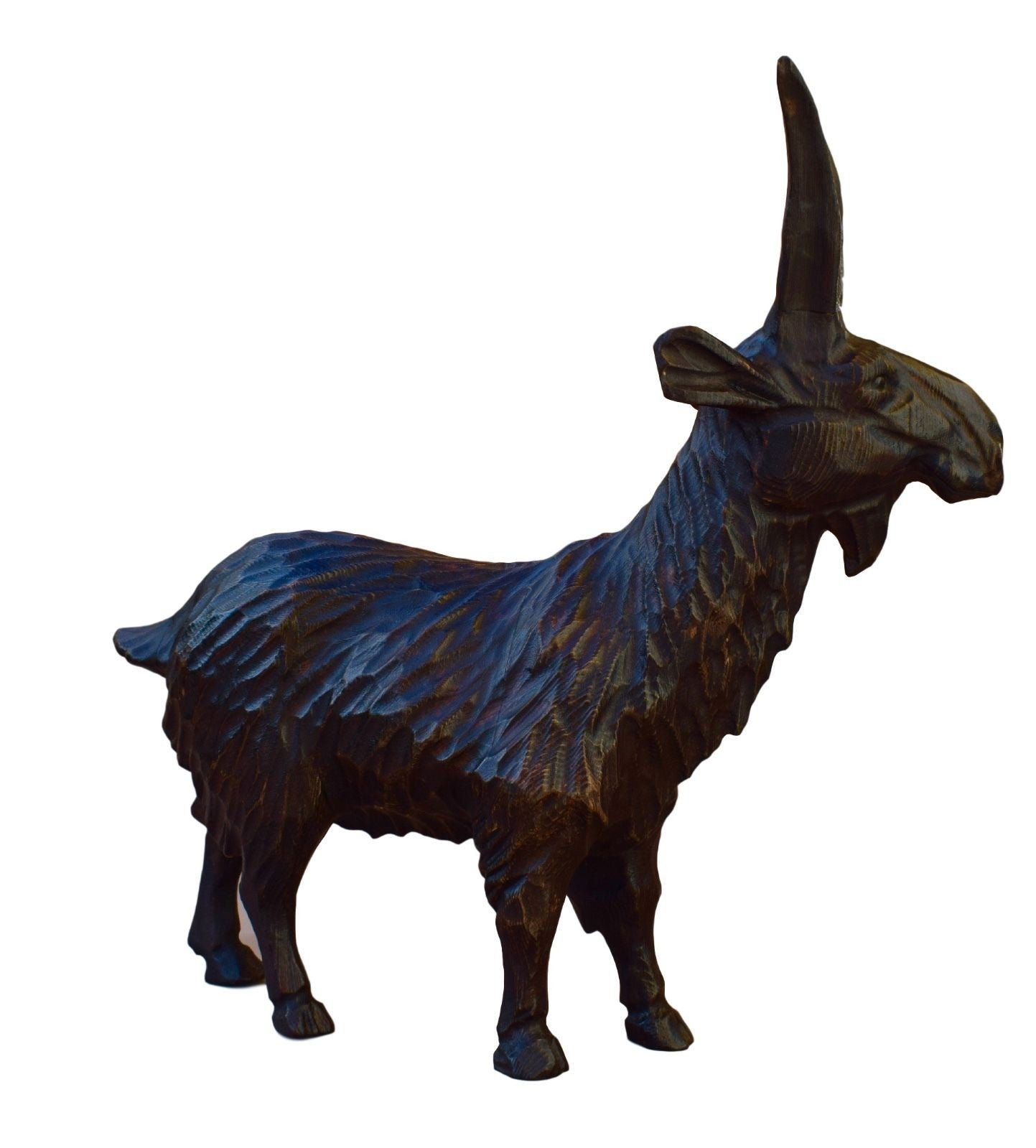 Black Forest Wood Ibex - Charmantiques