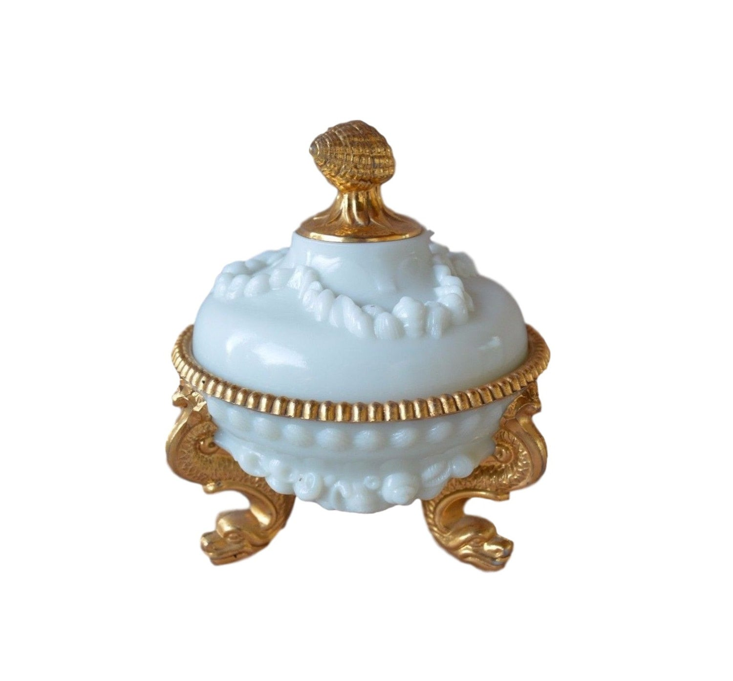 Milk Opaline Box - Charmantiques