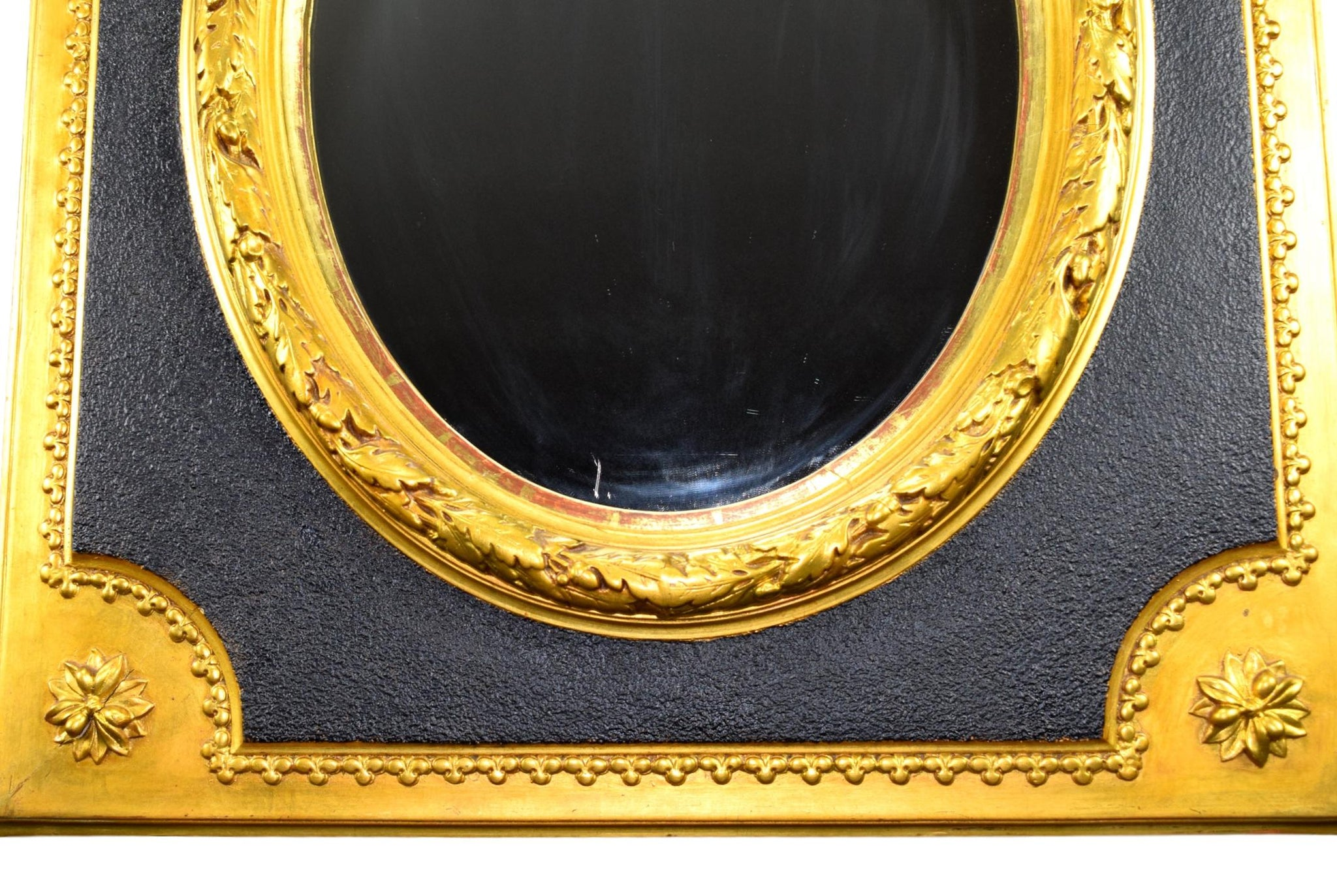 French Napoleon III Mirror - Charmantiques