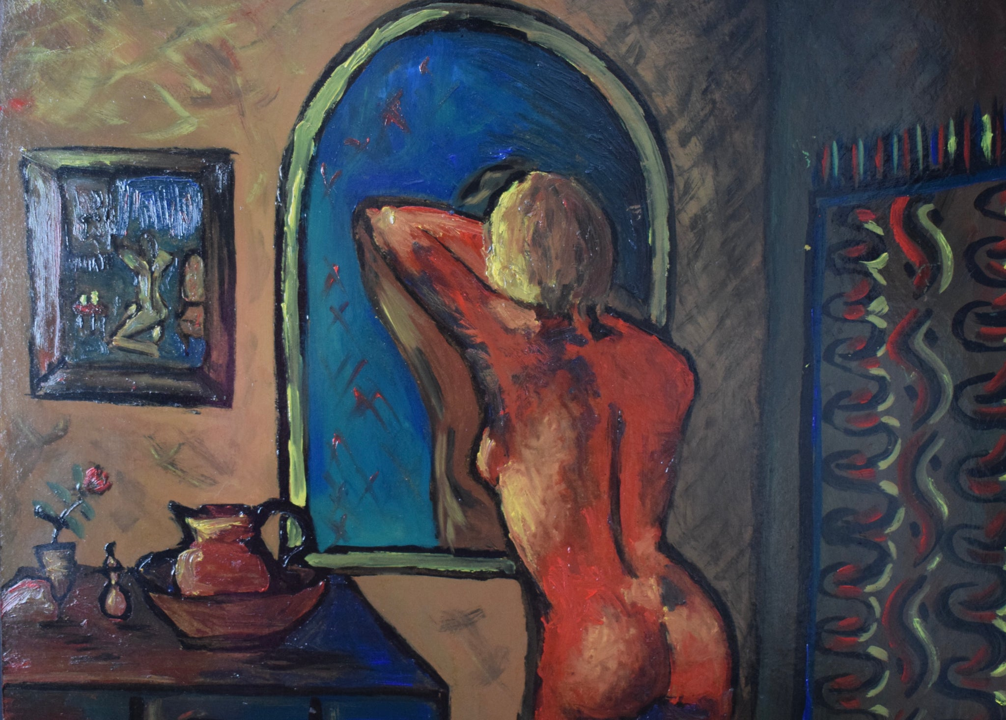 Oil Painting Nude Woman