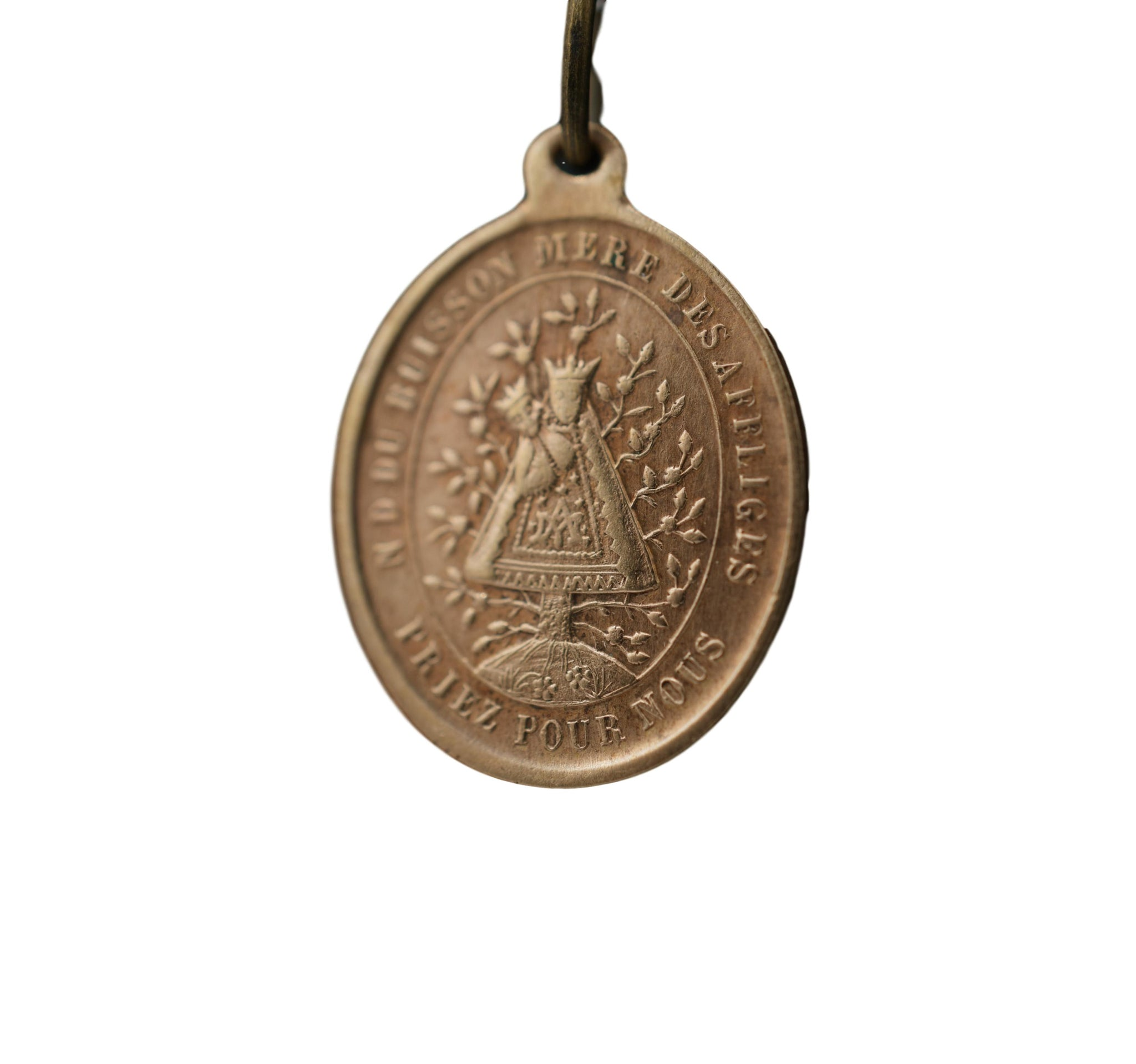 Mother of God of All the Afflicted Medal Notre Dame du Buisson