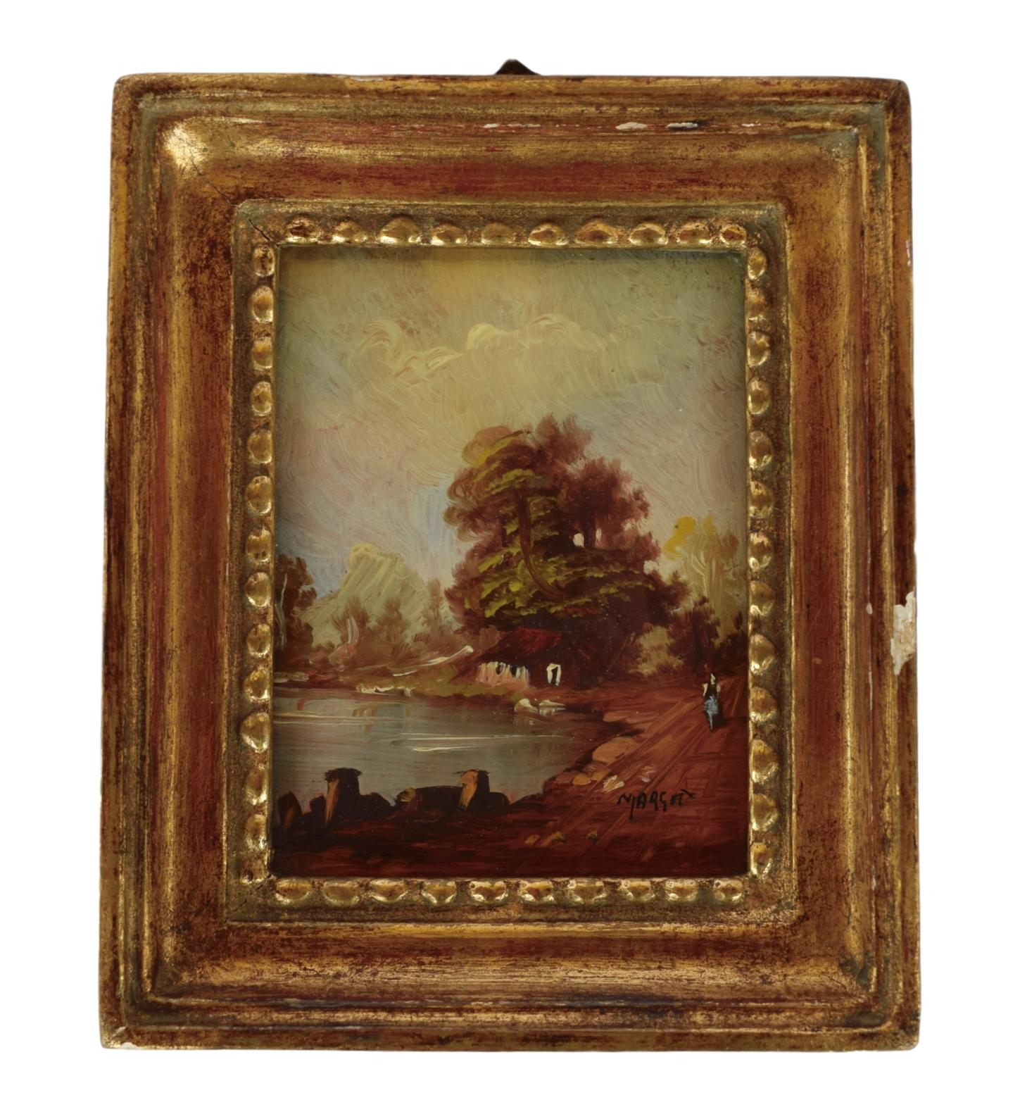 French Miniature Painting - Charmantiques
