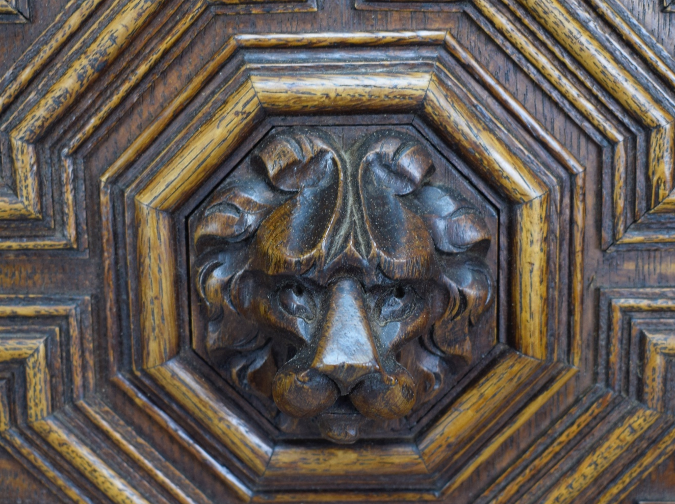 Lion Gothic Door - Charmantiques