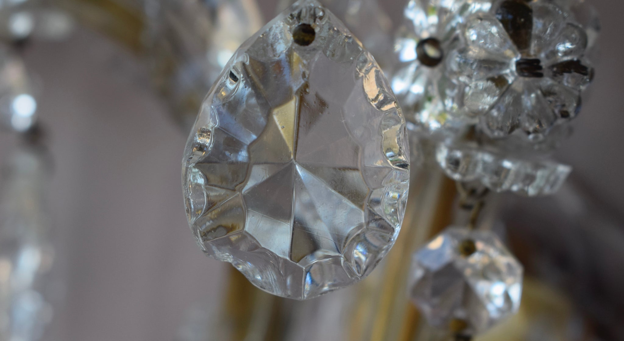 Crystal Wall Sconces - Charmantiques