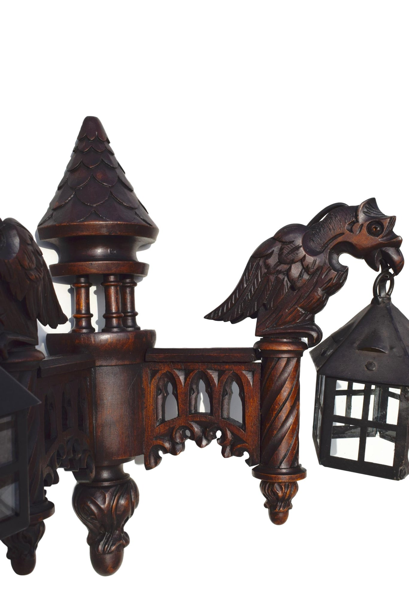 Griffin Wall Sconce - Charmantiques